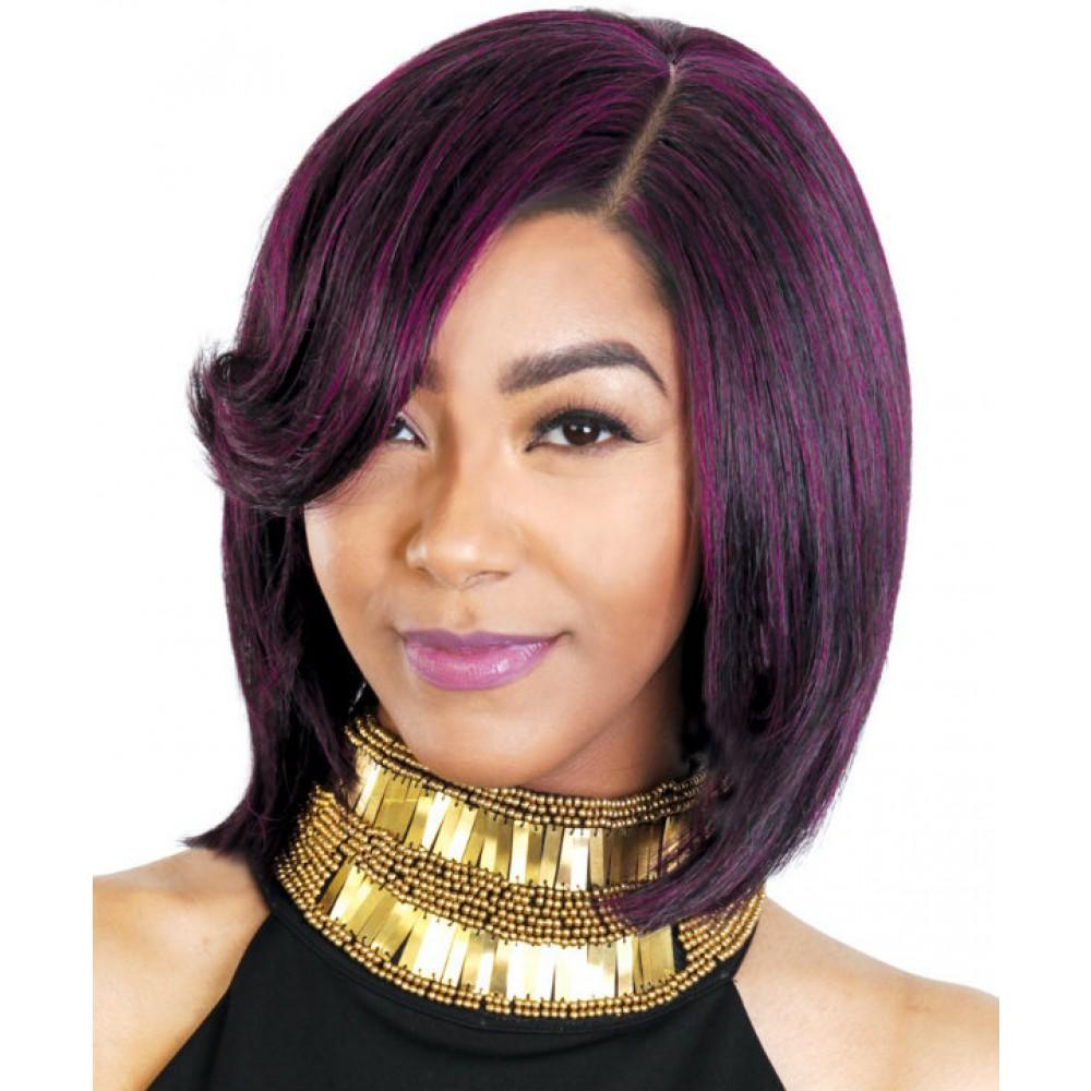 Sassy - 100% Human Hair Wig - Angled Line
